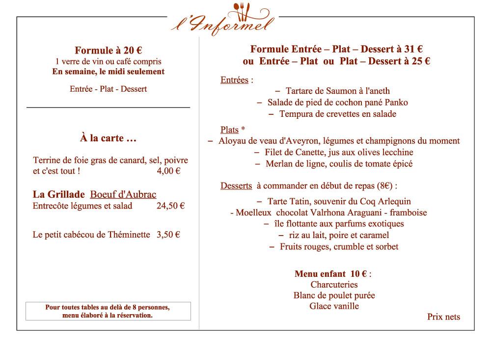 menu-l'informel